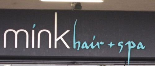 Mink Hair And Spa Logo and Images