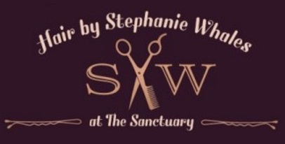Hair by Stephanie Whales Logo and Images