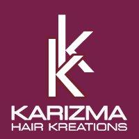 Karizma Hair Kreations Logo and Images