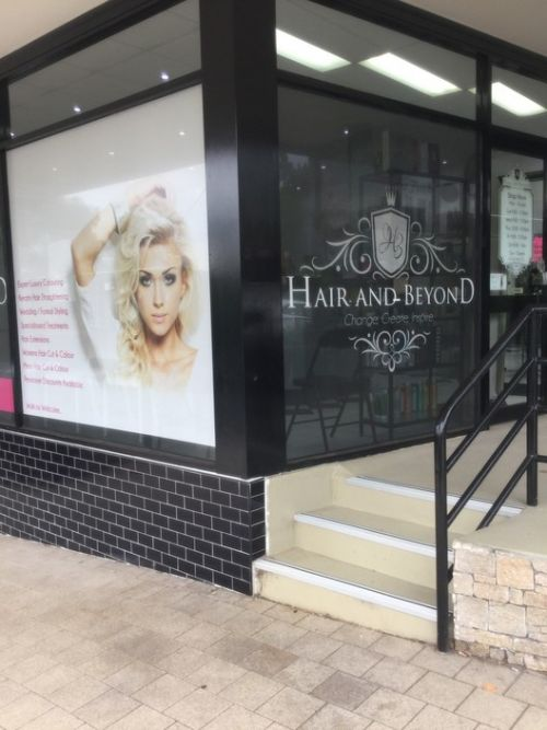 Hair And Beyond Logo and Images