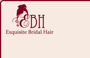 Exquisite Bridal Hair Logo and Images