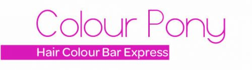 colour pony- hair colour bar express Logo and Images