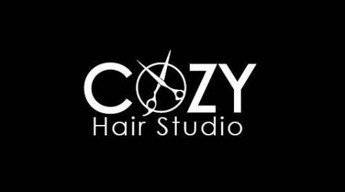 Cozy HairStudio Logo and Images