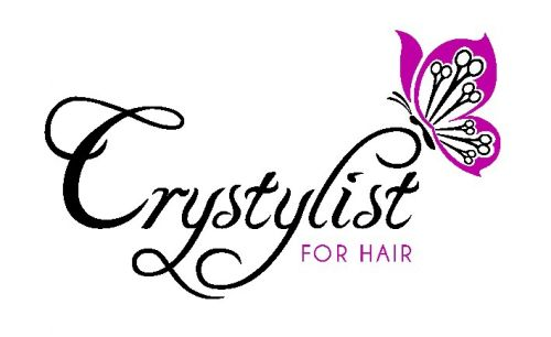 Crystylist for hair Logo and Images