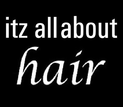 Itz All About Hair Logo and Images