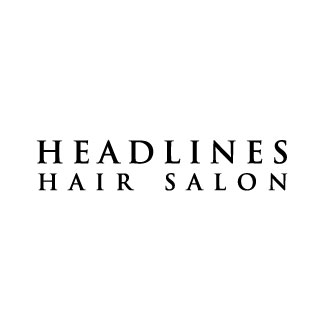 Headlines Hair Salon Logo and Images