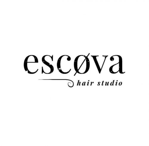 Escøva Hair Studio Logo and Images