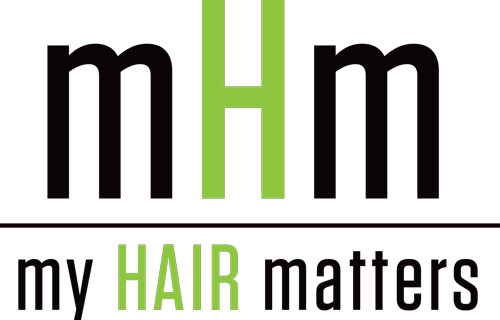My Hair Matters Logo and Images