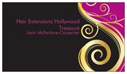 Hair Extensions Hollywood Treasure Logo and Images