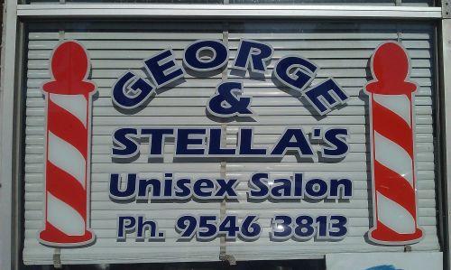 George Stella Unisex Logo and Images