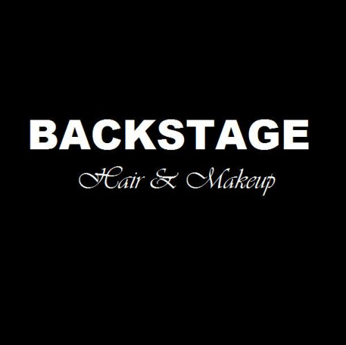 Backstage Hair And Makeup Logo and Images