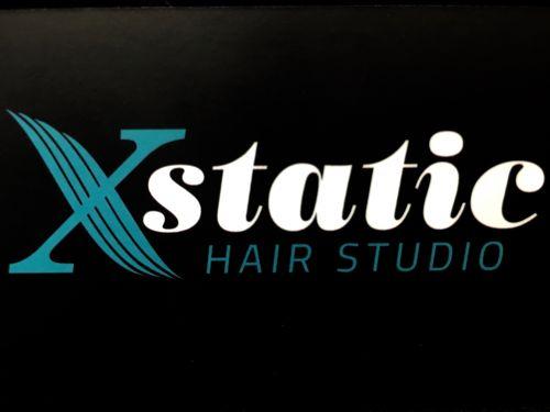 Xstatic Hair Studio Logo and Images
