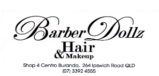 Barber Dollz Hair and Makeup Logo and Images