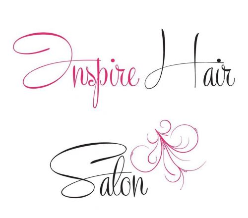 Inspire Hair Salon Logo and Images