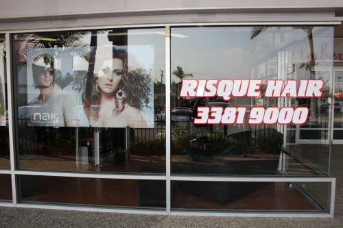 Risque Hair Logo and Images