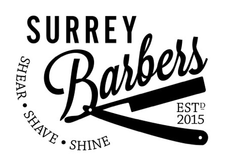Surrey Barbers Logo and Images