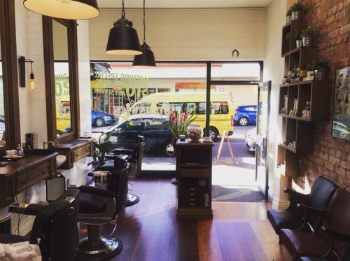 Barbers of Elsternwick Logo and Images
