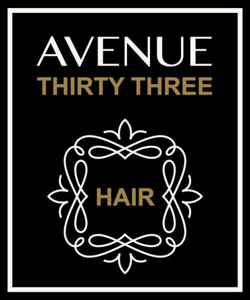 Avenue 33 Hair.Skin.Body Logo and Images