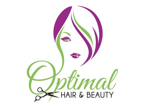 Optimal Hair & Beauty Logo and Images