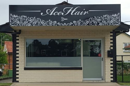 AceHair Logo and Images