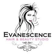Evanescence Hair and Beauty Studio Logo and Images