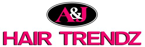 A&J Hair Trendz Logo and Images