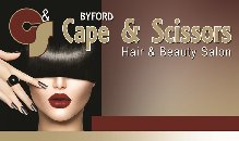 Byford's Cape & Scissors Hair & Beauty Salon Logo and Images