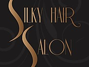 Silky Hair Salon Logo and Images