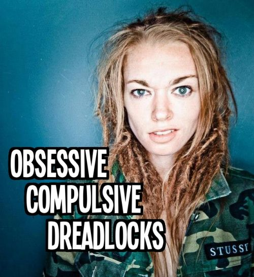 Obsessive Compulsive Dreadlocks Logo and Images