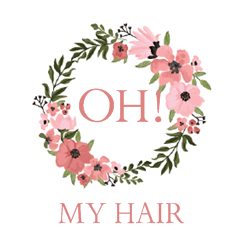 OH! MY HAIR Logo and Images