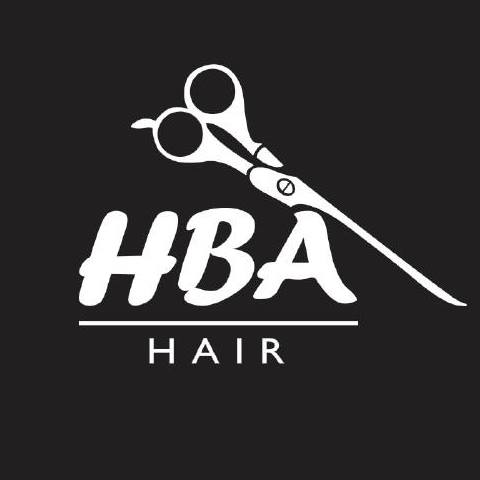 HBA Hair By Andy Logo and Images