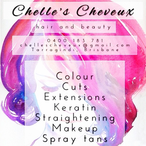 Chelle's Cheveux Hair Logo and Images