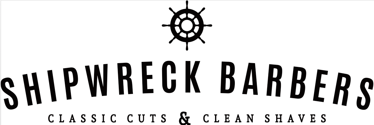 Shipwreck Barbers Logo and Images
