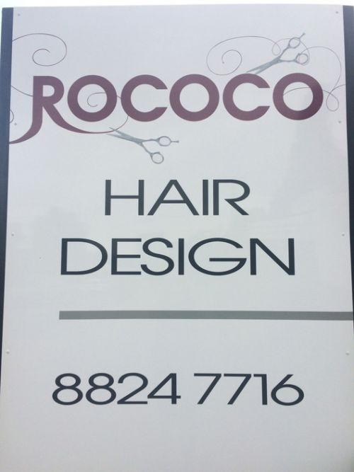 Rococo Hair Design Logo and Images