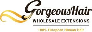 Gorgeous Hair Wholesale Extensions Logo and Images