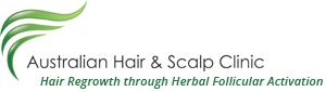 Australian Hair & Scalp Clinic Logo and Images