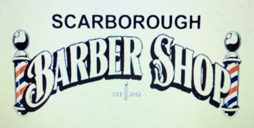 Scarborough Barber Shop Logo and Images