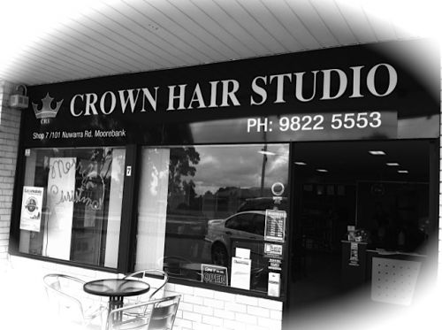 Crown Hair Studio Logo and Images