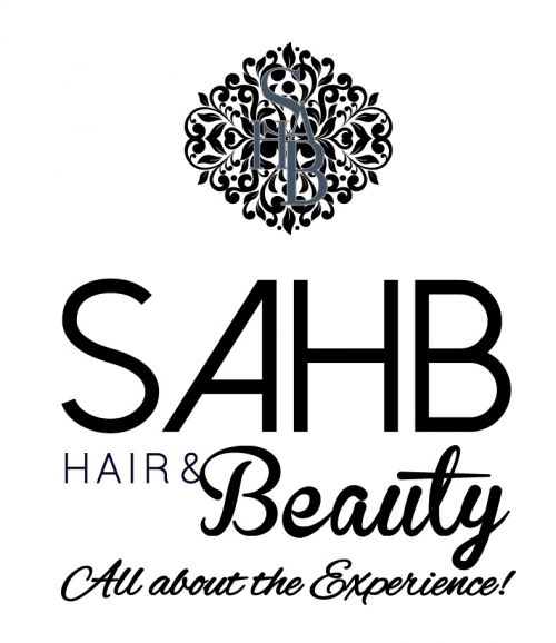 Sahb Hair and Beauty Logo and Images