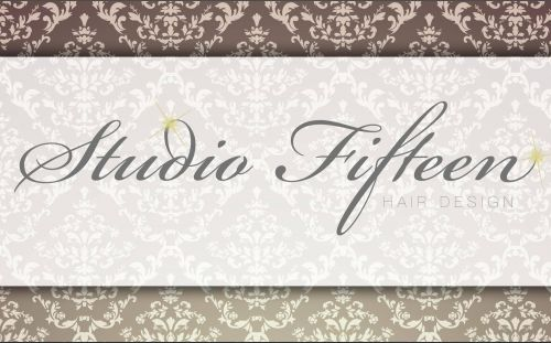 Studio Fifteen Hair Design Logo and Images
