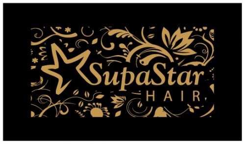 Supa Star Hair Logo and Images
