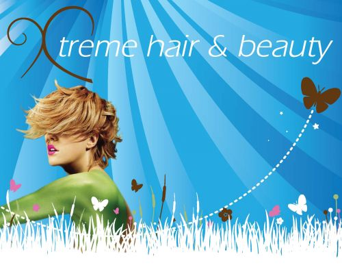 xtreme Hair & Beauty Logo and Images