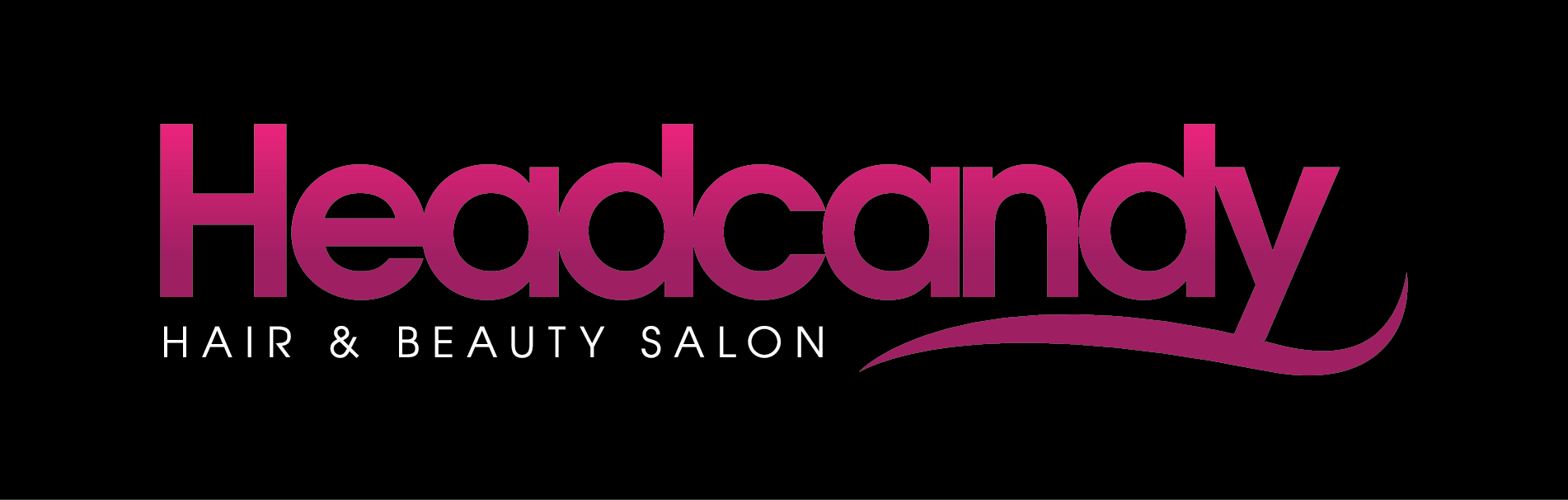 Headcandy Salon Logo and Images