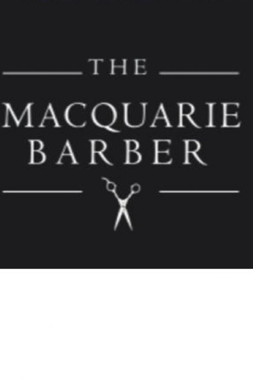 The Macquarie Barber Logo and Images