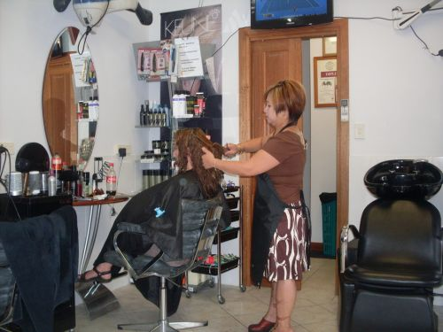 J & N Hair & Beauty Logo and Images