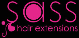 Sass Hair Extensions Logo and Images