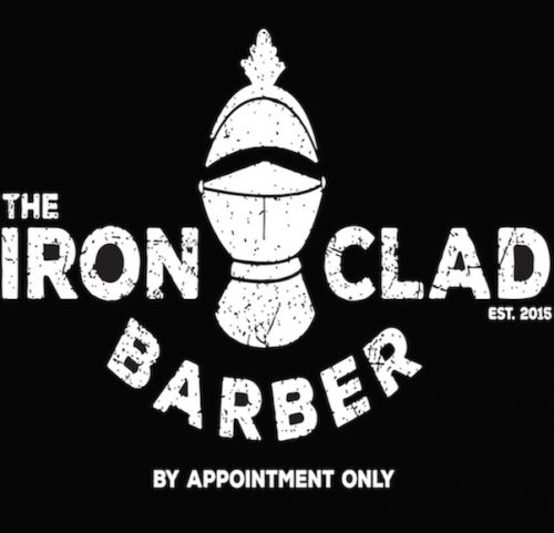The Ironclad Barber Logo and Images
