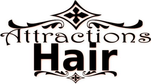 Attractions Hair Logo and Images