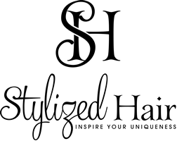 Stylized Hair Logo and Images