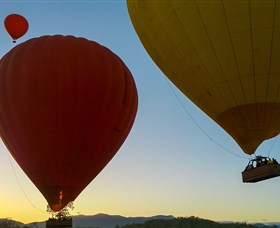 Fly Me to the Moon - Brisbane Hot Air Ballooning Image